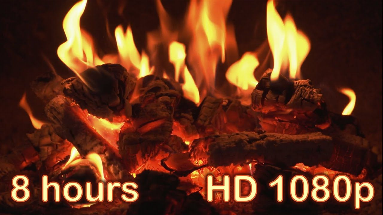 ✰ 8 HOURS ✰ Best Fireplace HD 1080p video ✰ Relaxing