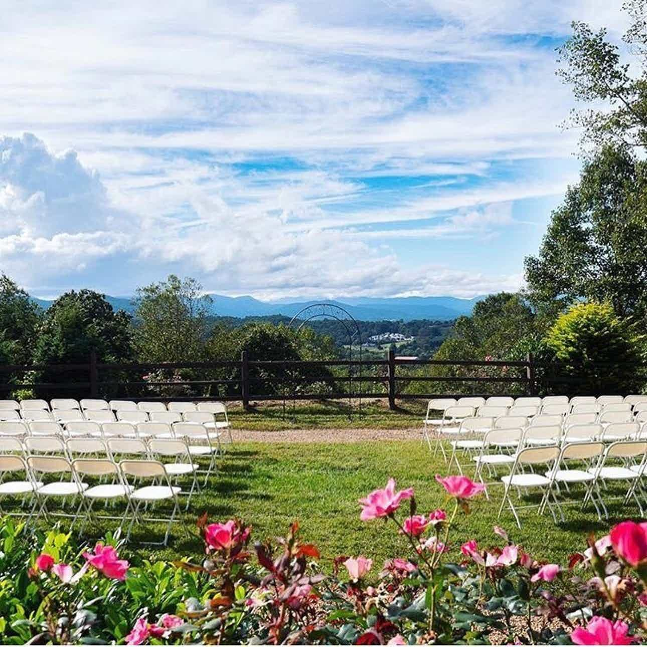 The Crest Center And Pavilion Weddings Asheville Mountains