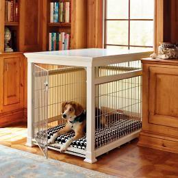 luxury mahogany pet residence dog crate | dog crate, crates and dog