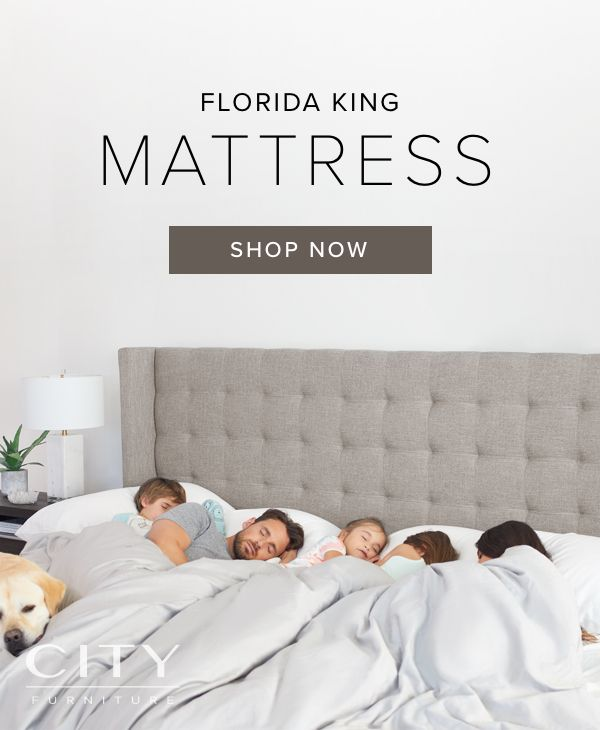 There S Finally Enough Room For Everyone Our New Florida King Mattress Measures 9 Feet Wide That S Almost 3 Feet More T King Mattress Mattress Shop Mattress