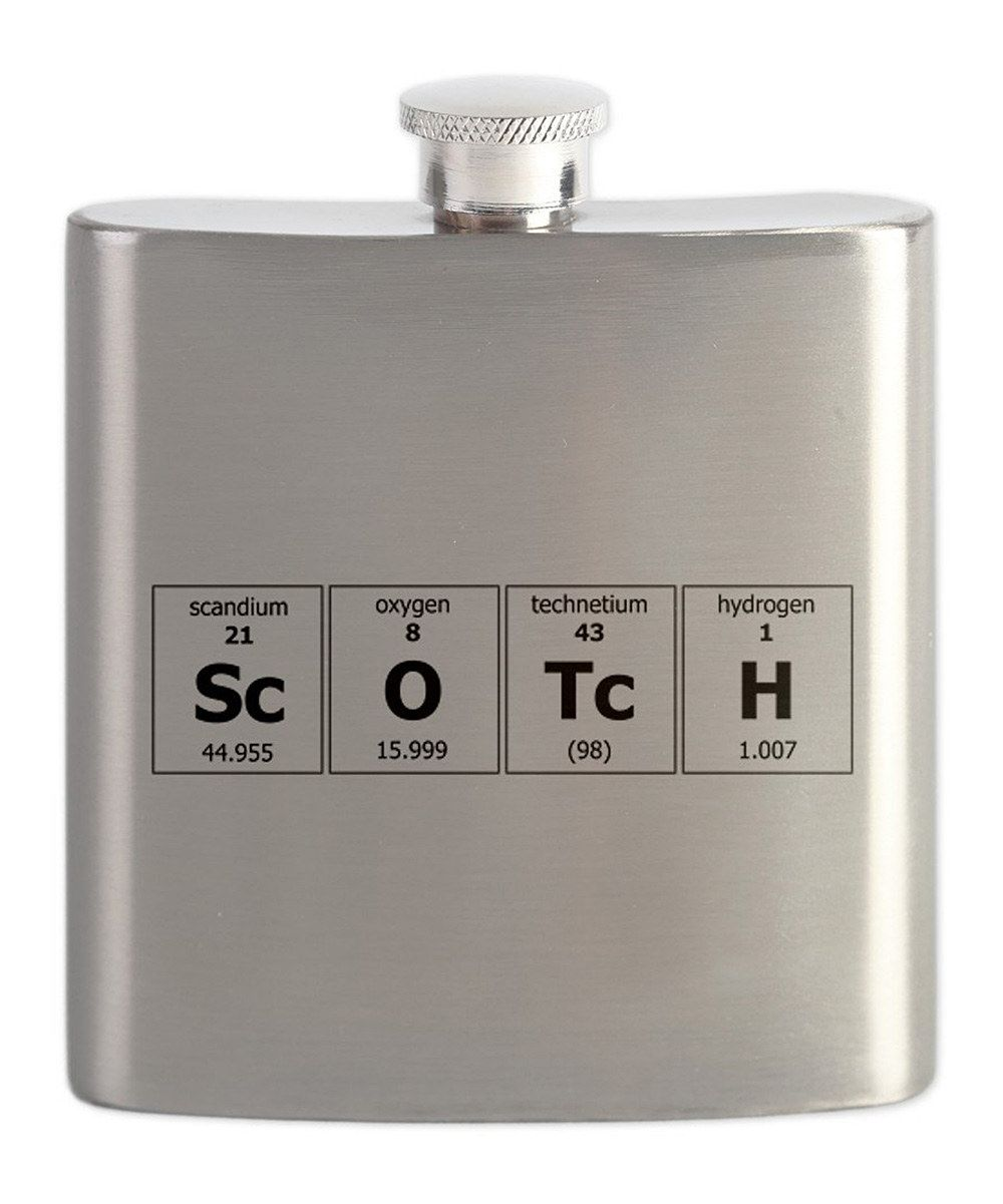 cfcc238062 This Stainless Steel Periodic Table Scotch Flask by CafePress is perfect!  #zulilyfinds