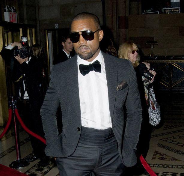 Kanye Wins Own Wedding in Trad Tuxedo | Pinterest | Men\'s fashion