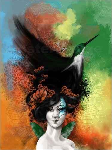 """Bild von Crimzon - """"Der Kolibri und sein Nest"""""""