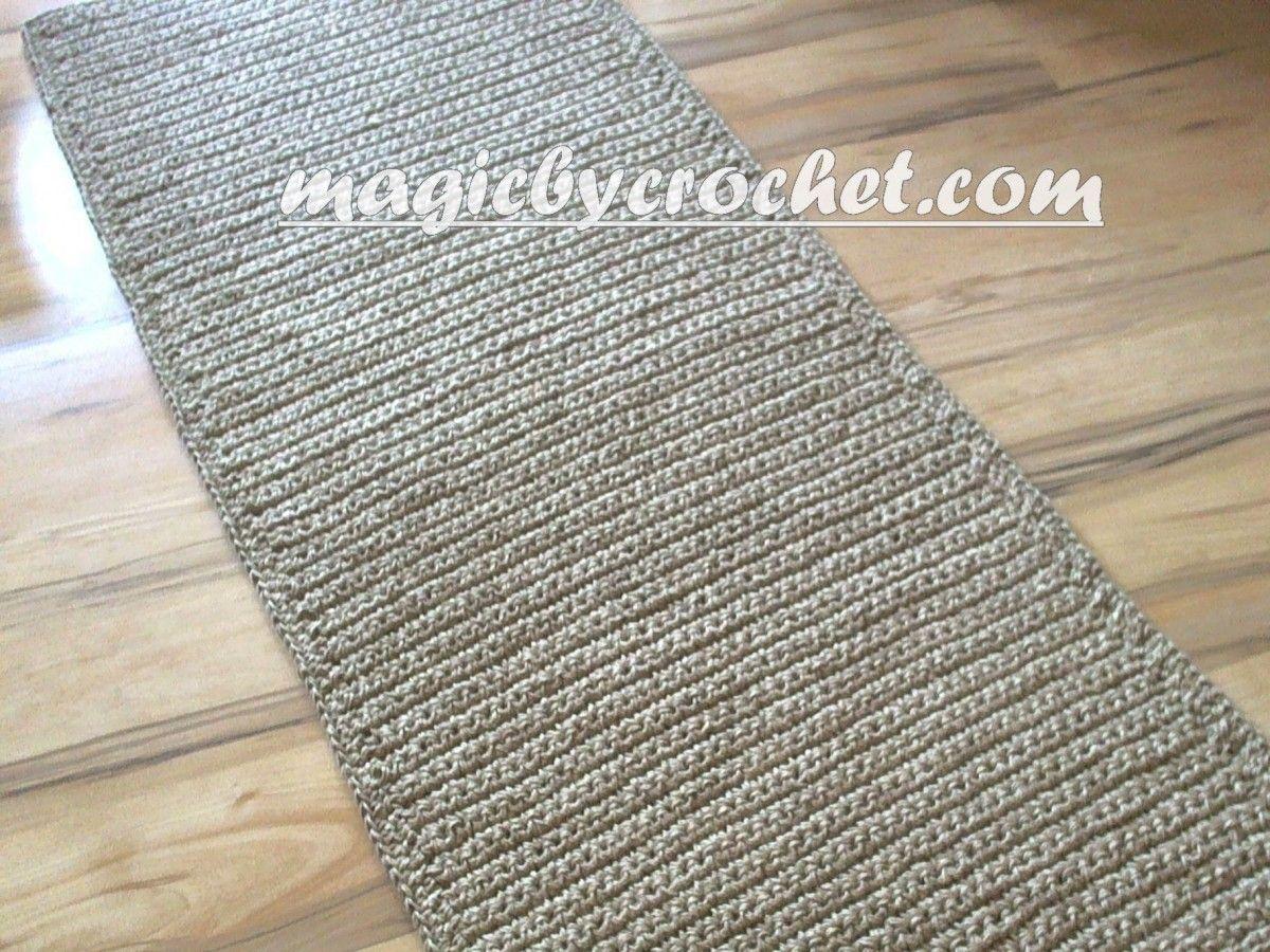 Extra Long Hallway Runner Rug Handmade Jute Crochet Rug No 032 Rug Runner Hallway Rug Runner Long Rug