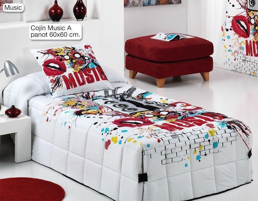 Edredon Conforter Music | Edredones Infantiles y Juveniles | Pinterest