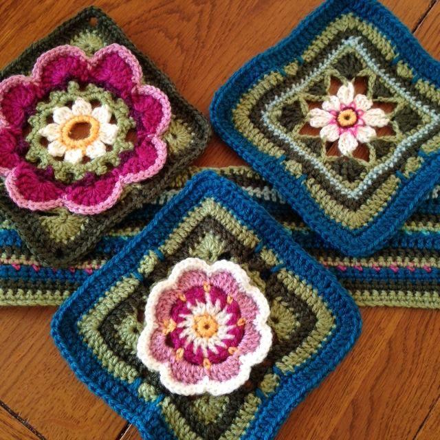 Stylecraft Life Dk Crochet Along Lily Pond Blanket Kit