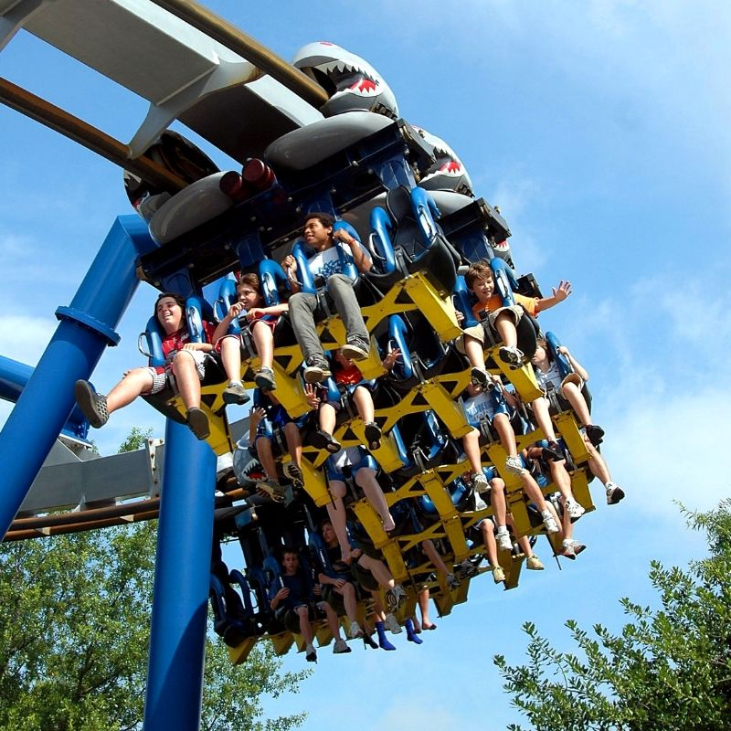 Enjoy The Thrilling New Rides At The Six Flags Fiesta Texas This Season Stay With Us Book With Our S Seaworld San Antonio Six Flags Six Flags Fiesta Texas