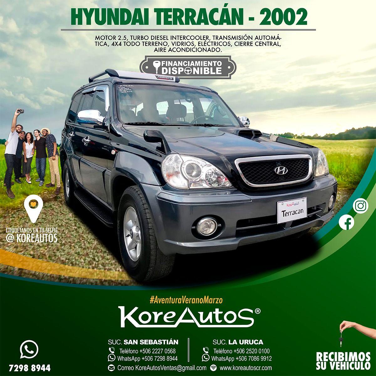 Hyundai Terracan 2002 Motor 2.5 Turbo Diesel