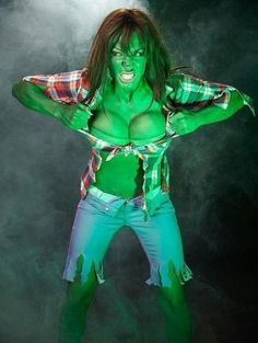 sexy she-hulk cosplay - Google Search & sexy she-hulk cosplay - Google Search | Halloween Costumes ...
