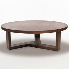 Inmod Tripod Round Coffee Table Large 472diameter x 157h