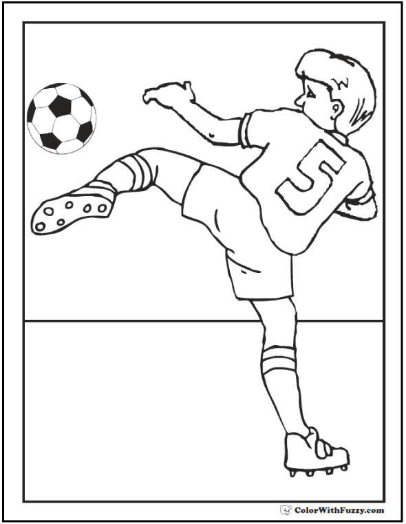 Soccer Coloring Pages Customize And Print Pdf Sports Coloring Pages Coloring Pages Football Coloring Pages