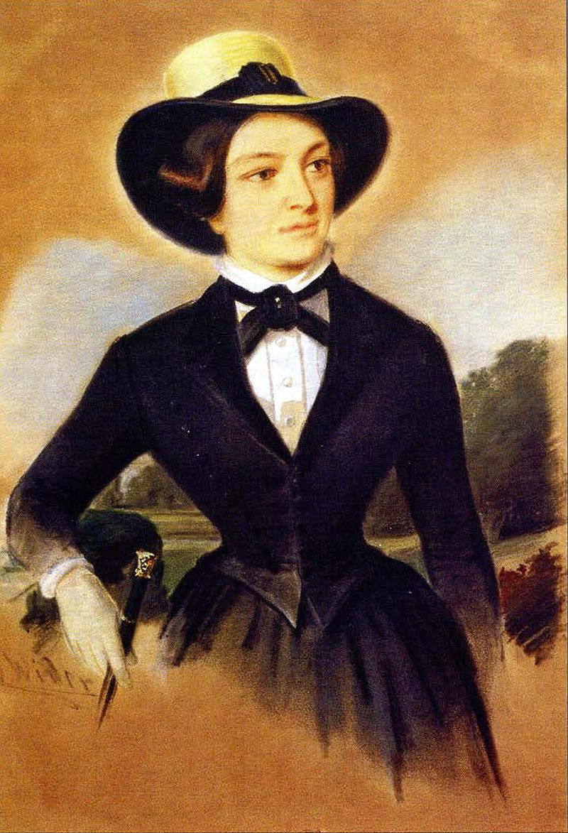 Елизавета Николаевна Карамзина (1821–1891), младшая дочь историка, фрейлина.