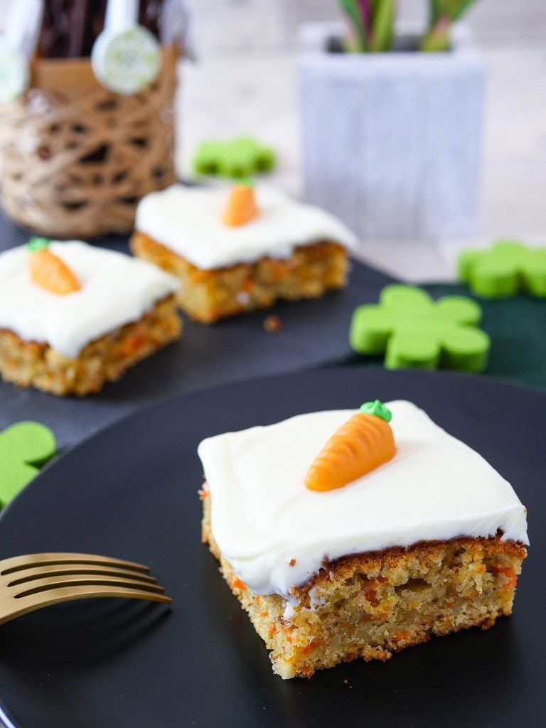 Karottenkuchen Rezept mit Frischkäse – Applethree – Food | Travel | Life