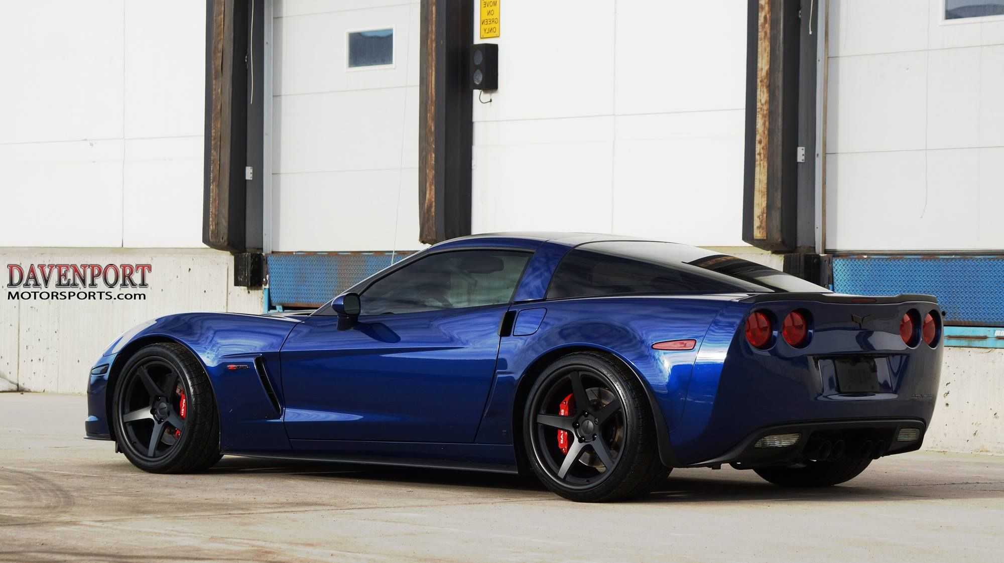 Davenport Motorsports built this C6 Corvette Z06 with their