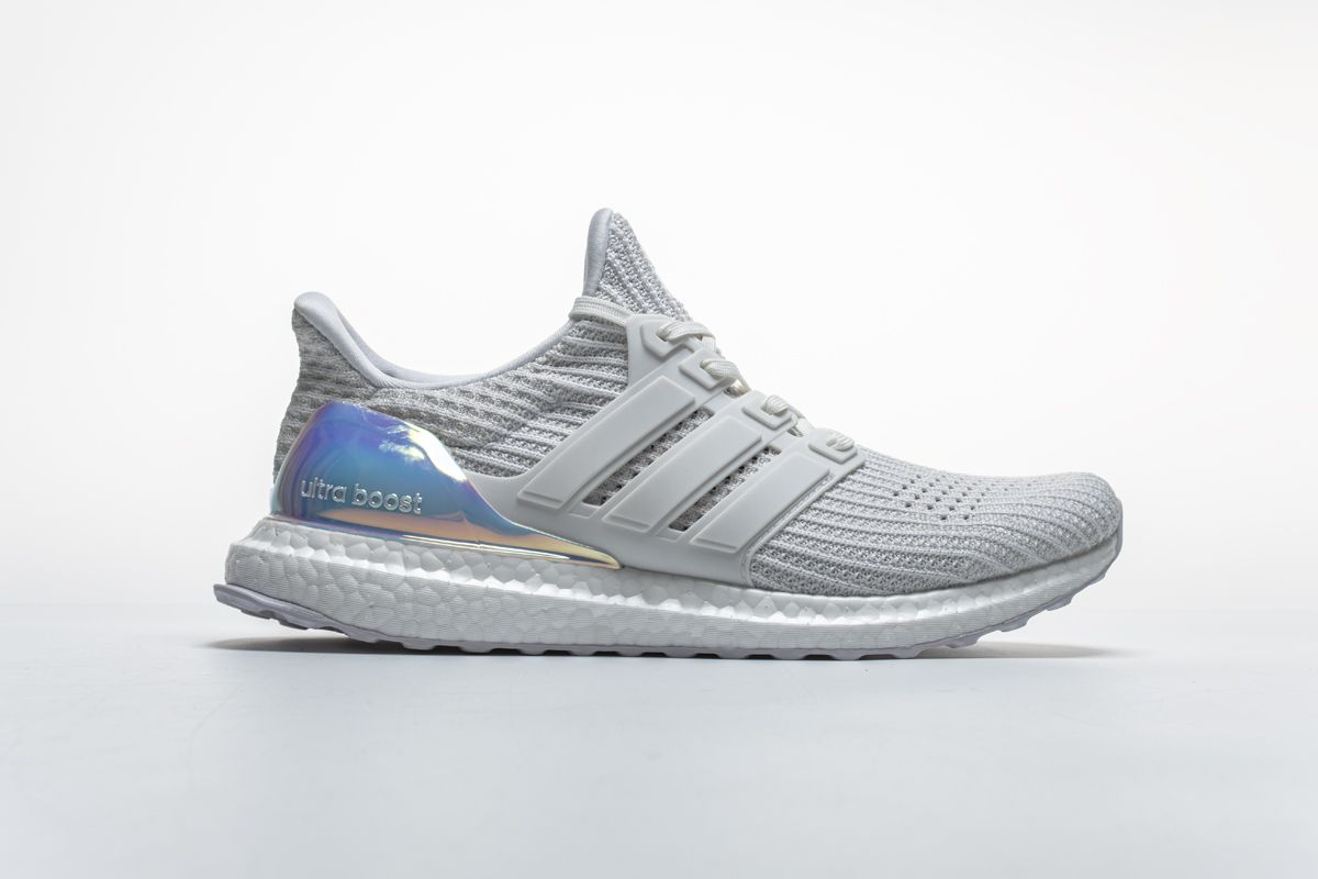 Adidas Ultra Boost 4.0 Iridescent White BY1756 Real Boost3  8423fe1fb482