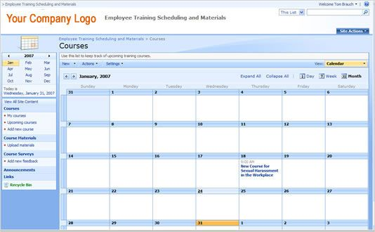 How To Create A Training Plan In Excel