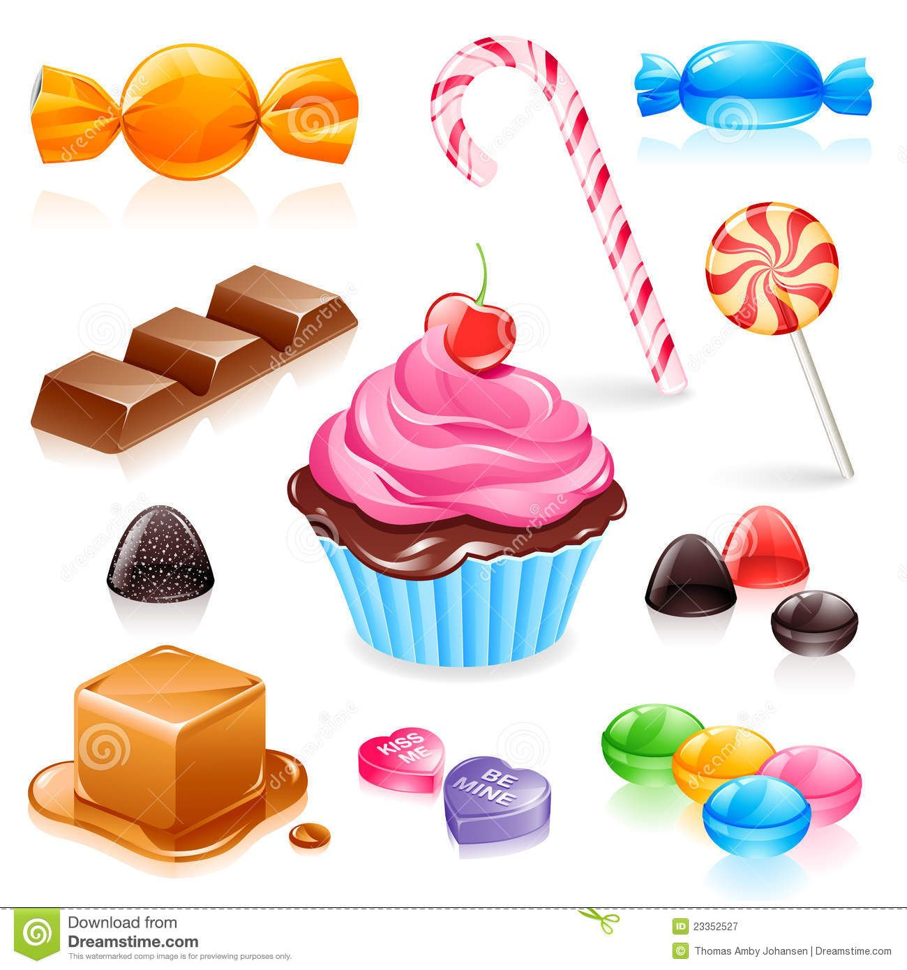 candy vector Google Search Candy, Caramel, Sweet candy