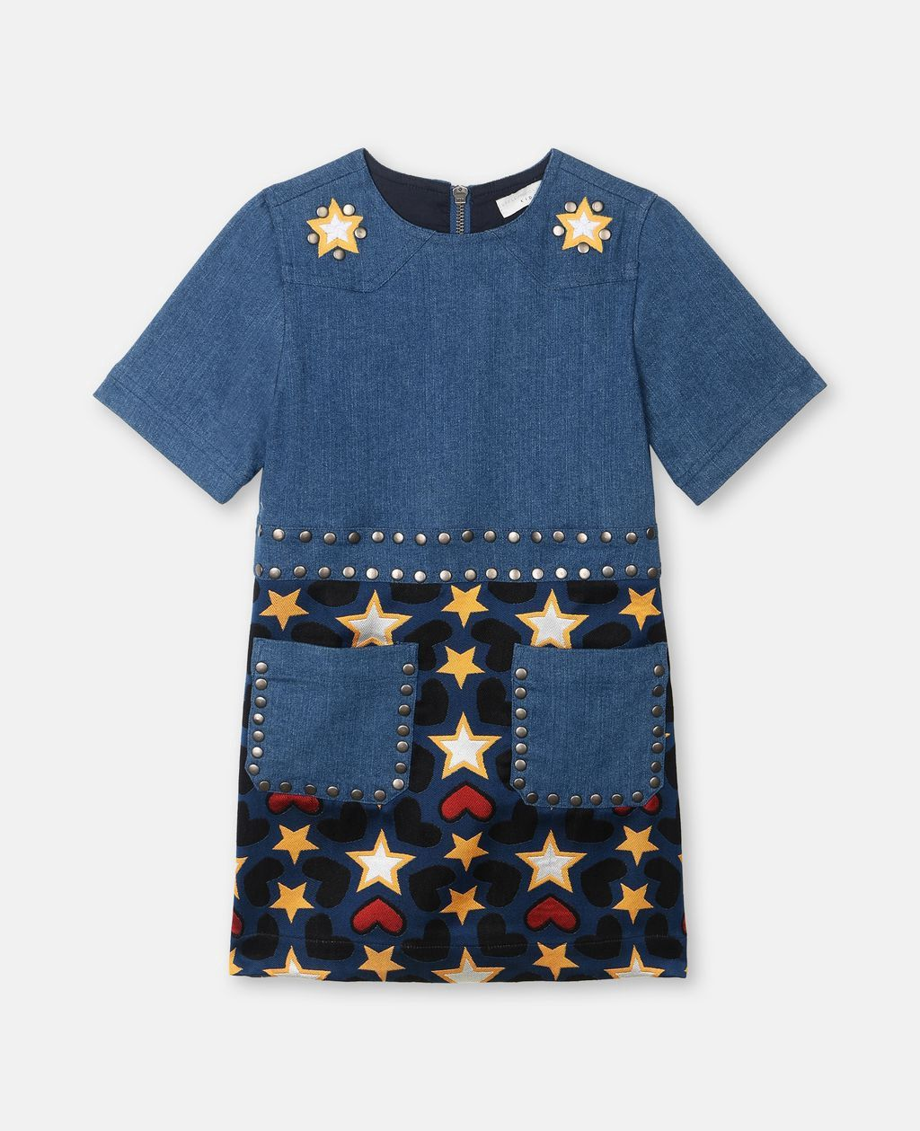12403c650dd0 Denim Print Dress by Stella McCartney in 2018