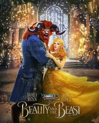 Minotaur And Rafaela In Series Beauty And The Beast Mobile