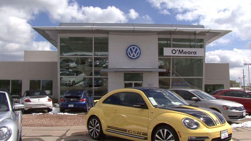 O'Meara VW in Thornton Vw dealership, Automobile