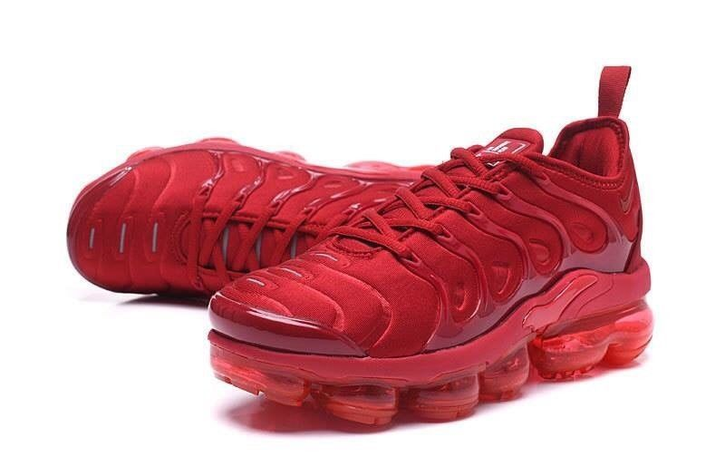 premium selection 19124 df927 Nike Air VaporMax Plus Men Athletic Shoe All Red Size 10  fashion  clothing