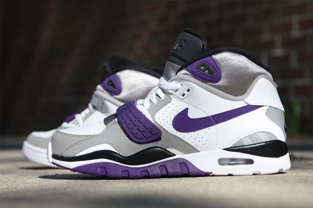 online store adae2 b5498 Nike Air Trainer SC II High WhiteClub Purple