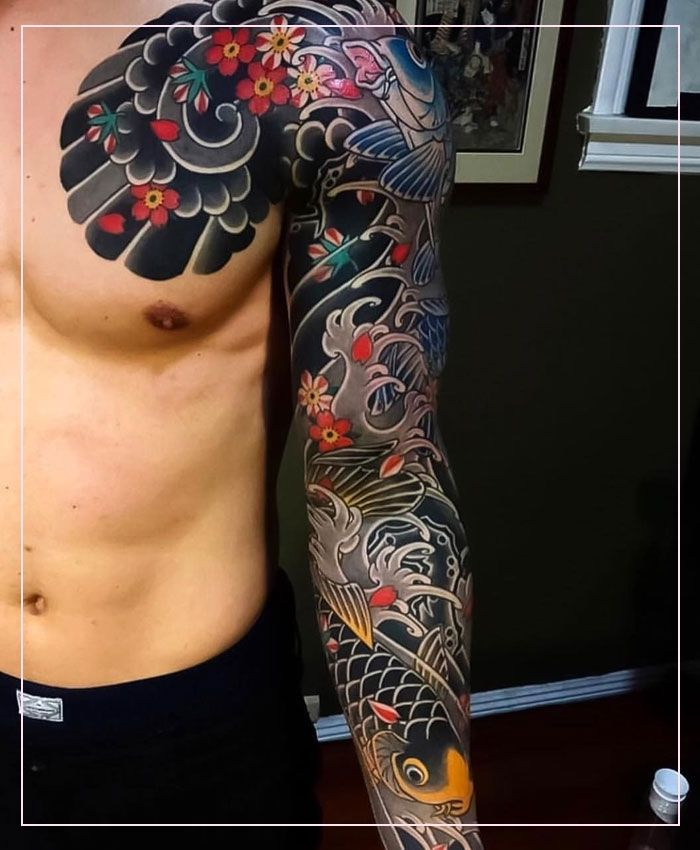 Japanese Tattoos 95003 125 Best Japanese Tattoos For Men Cool Designs Ide In 2020 Japanese Tattoos For Men Japanese Sleeve Tattoos Traditional Japanese Tattoo Sleeve