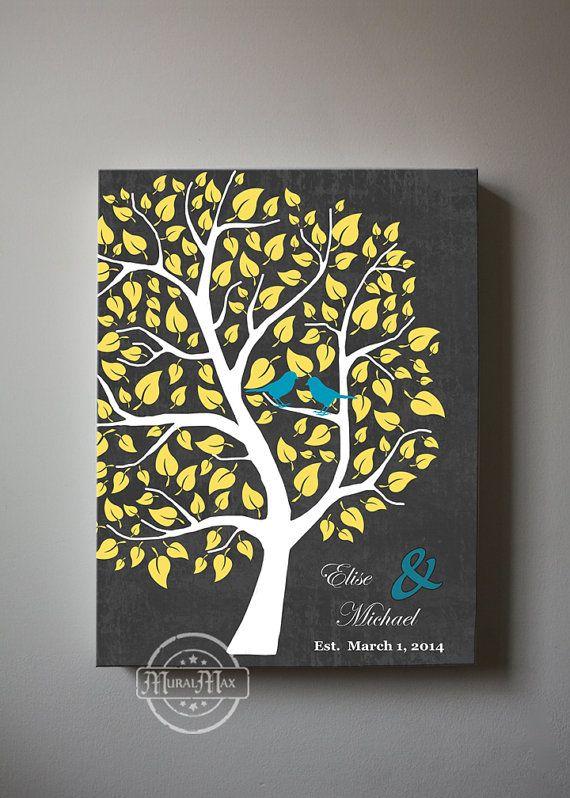 Wedding Gift Canvas Art : ... Canvas Art, Anniversary Christmas Gift, Wedding sign Christmas gifts