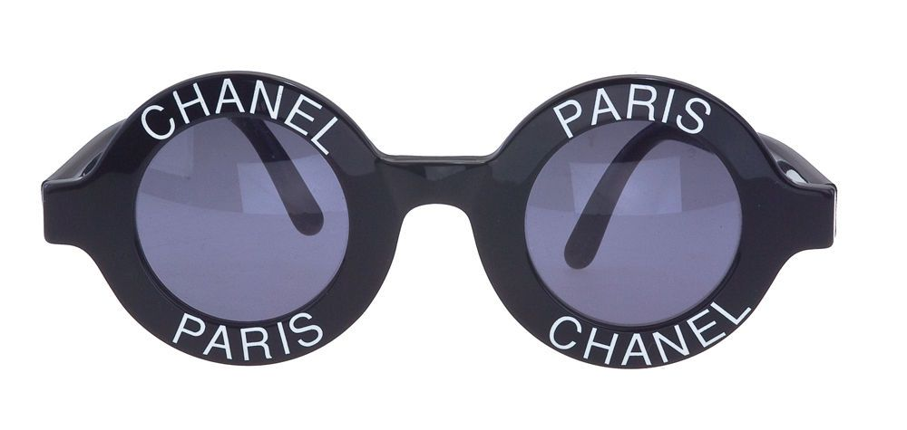 13a4a8c762 Chanel  Chanel Paris  Logo Frame Sunglasses in 2019