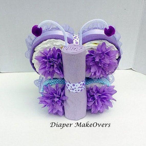Girl Diaper Cake Unique Diaper Cake Baby Gift