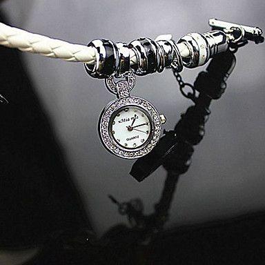 ronda caso de línea cuerda trenzada reloj de cuarzo de moda de la marca de las mujeres del reloj (más colores disponibles) – EUR € 30.39