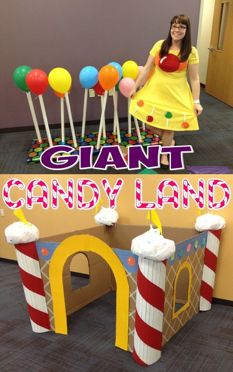 Kids Programming–Giant Candy Land – The Lego Librarian #candylanddecorations