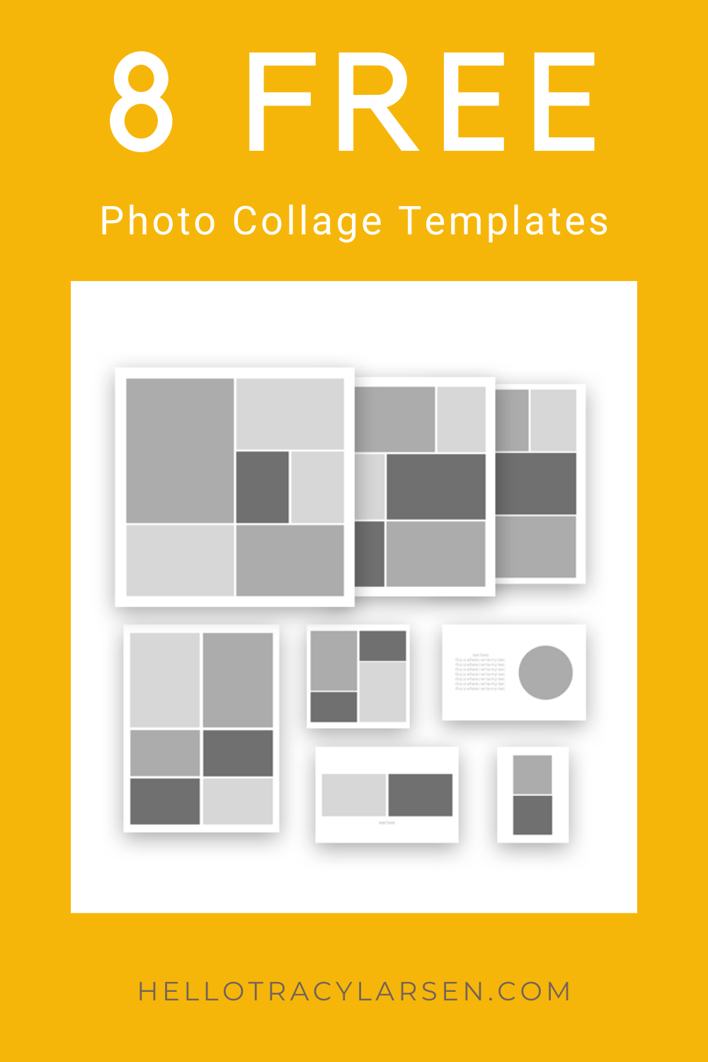 8 Free Photo Collage Templates Photo Collage Template Free Photo Collage Templates Collage Template
