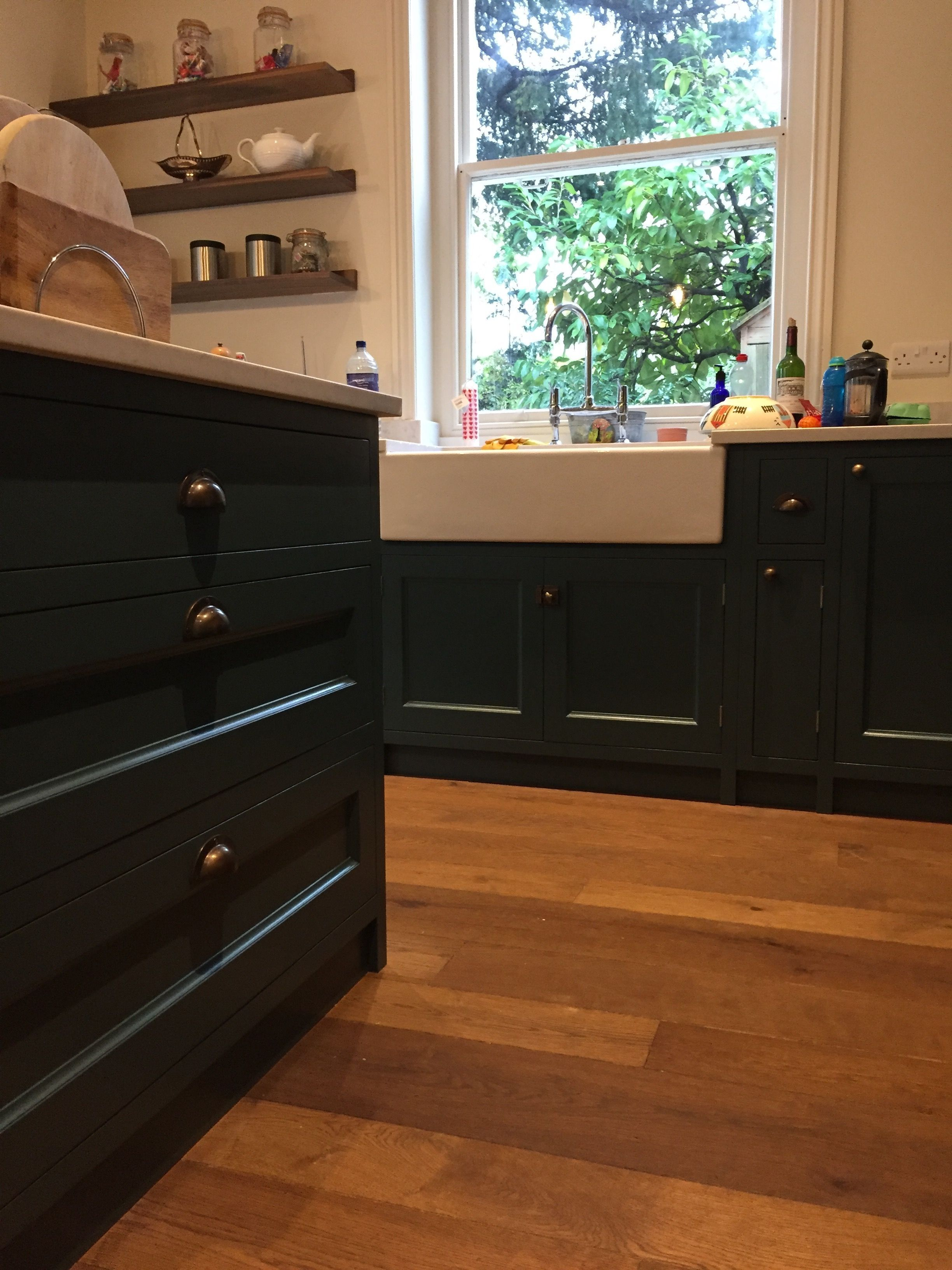 Best Farrow And Ball Inchyra Blue Cabinetry Hand Patinated 400 x 300