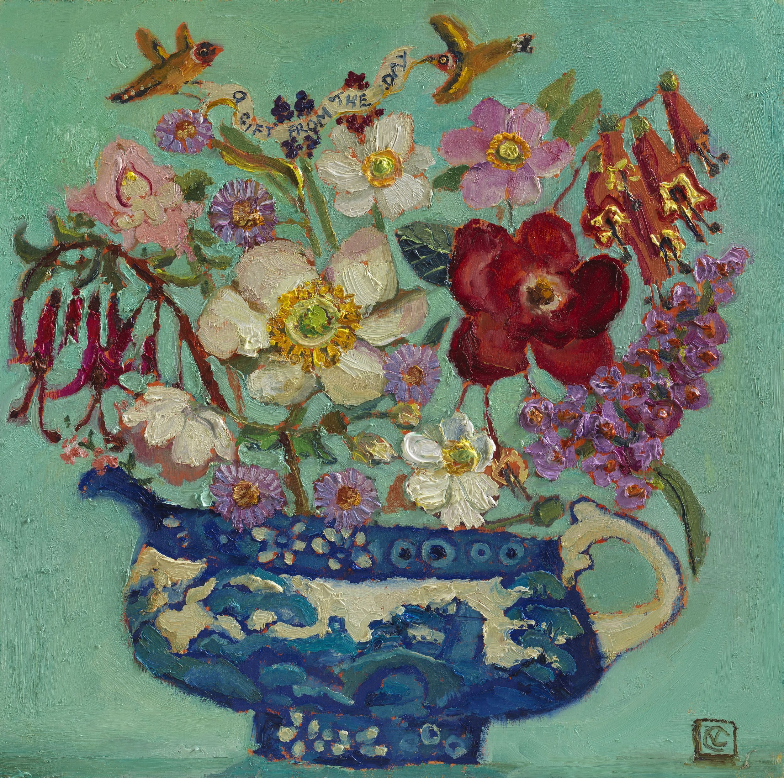Vanessa Cooper | Brian Sinfield Art Gallery | Floral painting ...