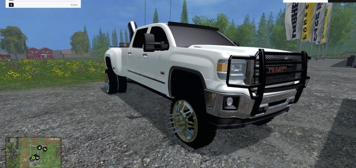 FS15 2011 FORD F550 FLATBED V1 0 Today I have my first fs15