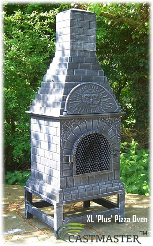 Superb CASTMASTER OUTDOOR XL PLUS PIZZA OVEN CHIMINEA CHIMENEA