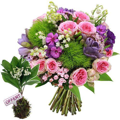 porte bonheur fleurs et cadeaux pinterest bouquet fleurs et bouquet de fleurs. Black Bedroom Furniture Sets. Home Design Ideas