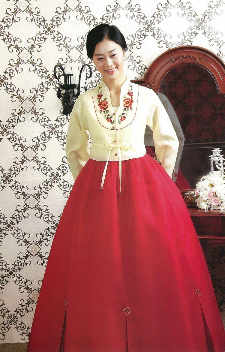Korean traditional dresshanbok wear wedding reception birthday