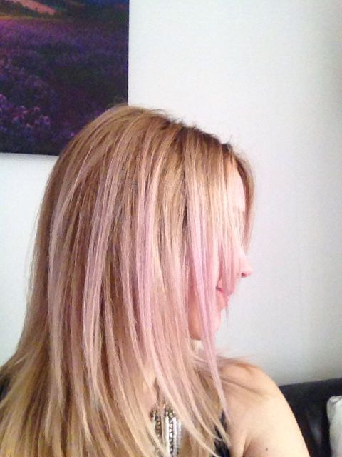 Pink Toner On Blonde Hair Anyone Can Go Blonde Just Get The Right Toner Toner For Blonde Hair Long Hair Styles Hair