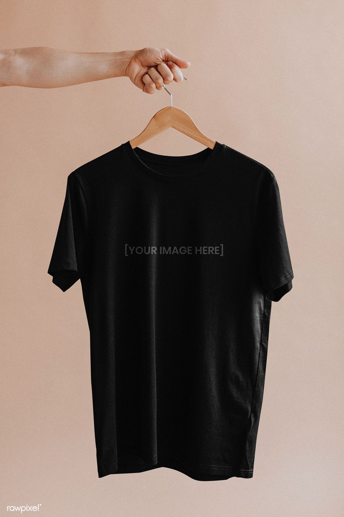 Download Download Premium Psd Of Shirt In A Hanger Mockup 1216446 Minimal Shirt Design Photography Shirts Clothing Mockup