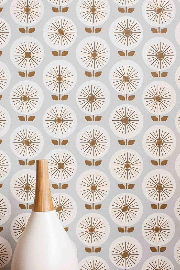 Peel And Stick Wallpaper Marker Girl Mid Century Modern Wallpaper Wallpaper Panels Temporary Wallpaper