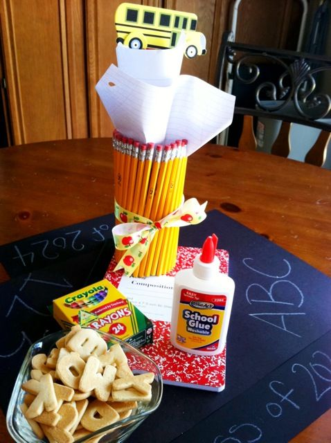 Back to School Preschool Party at Home!!!