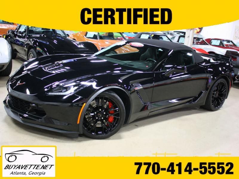 2016 Corvette Z06 3lz Convertible 601065 2016 Corvette