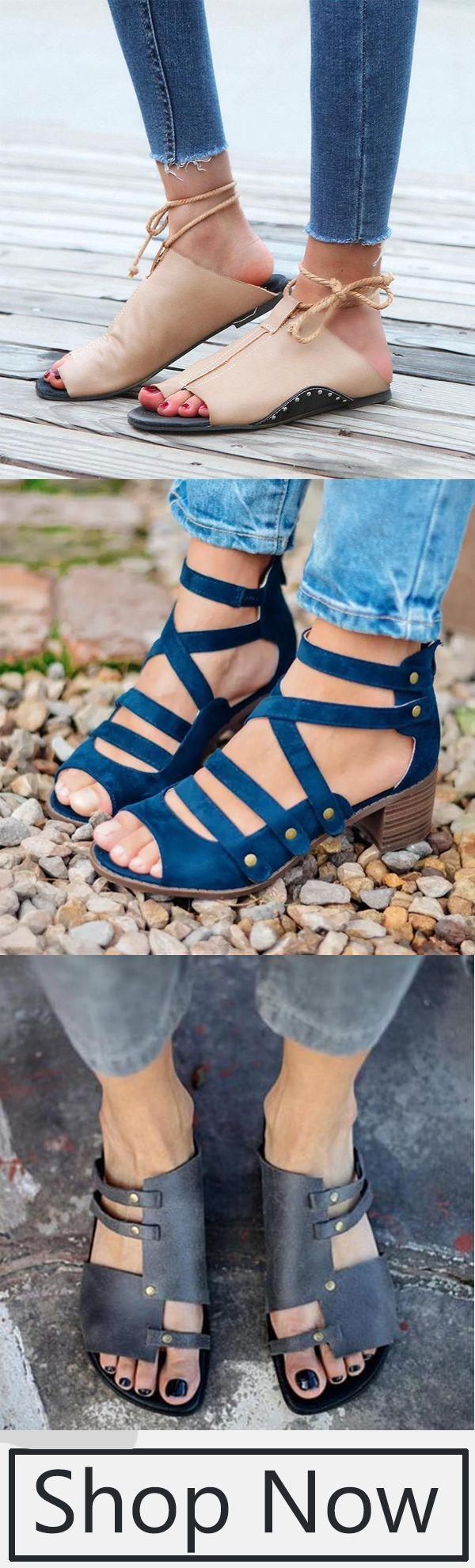 Sandals !2019 Trendy Shoes !   Fashion
