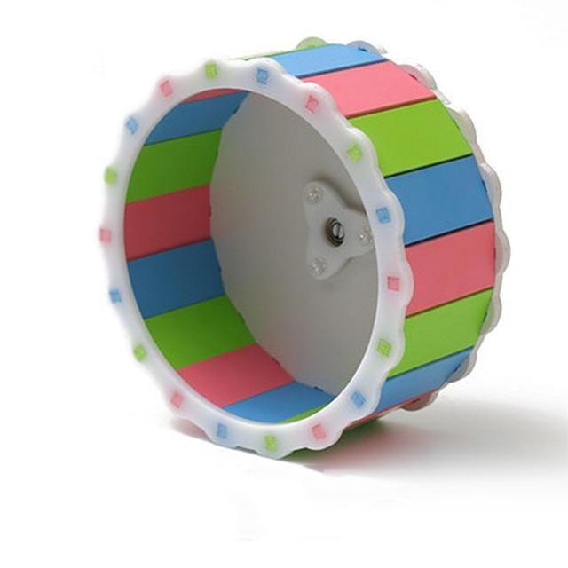Silent roller Hamster toys mute running wheel Syrian
