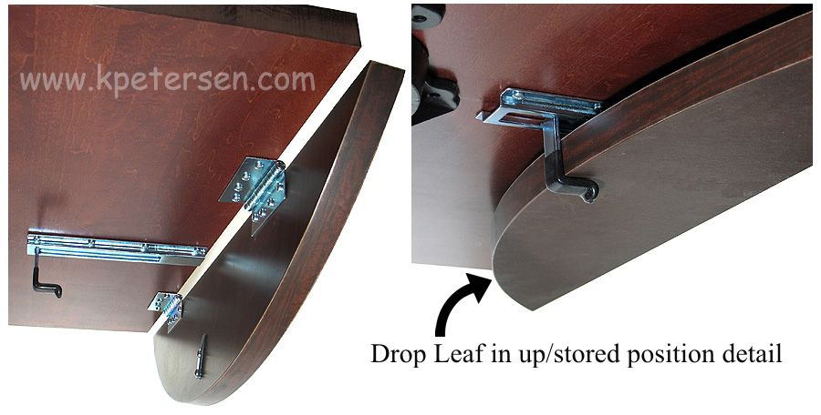 Dropleaf Table Hardware Leaf Positions Flip Top Table Table