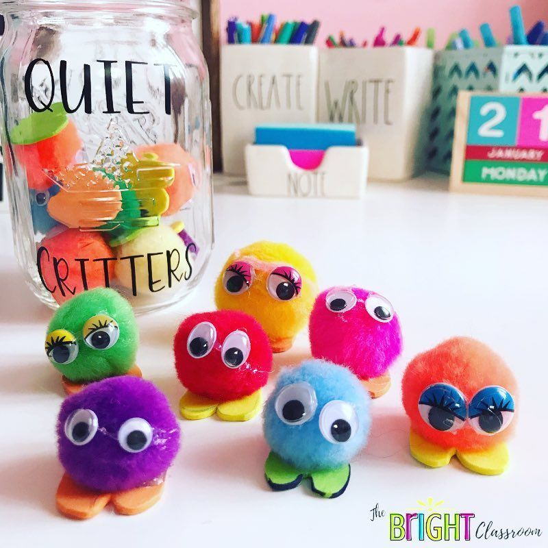 "Ms. Drexel ???? on Instagram: ""Quiet Critters ???? // Tomorrow my class will be meeting some new friends! ••• We are quiet critters, we only come around, when you are…"" #quietcritters #quietcritters"