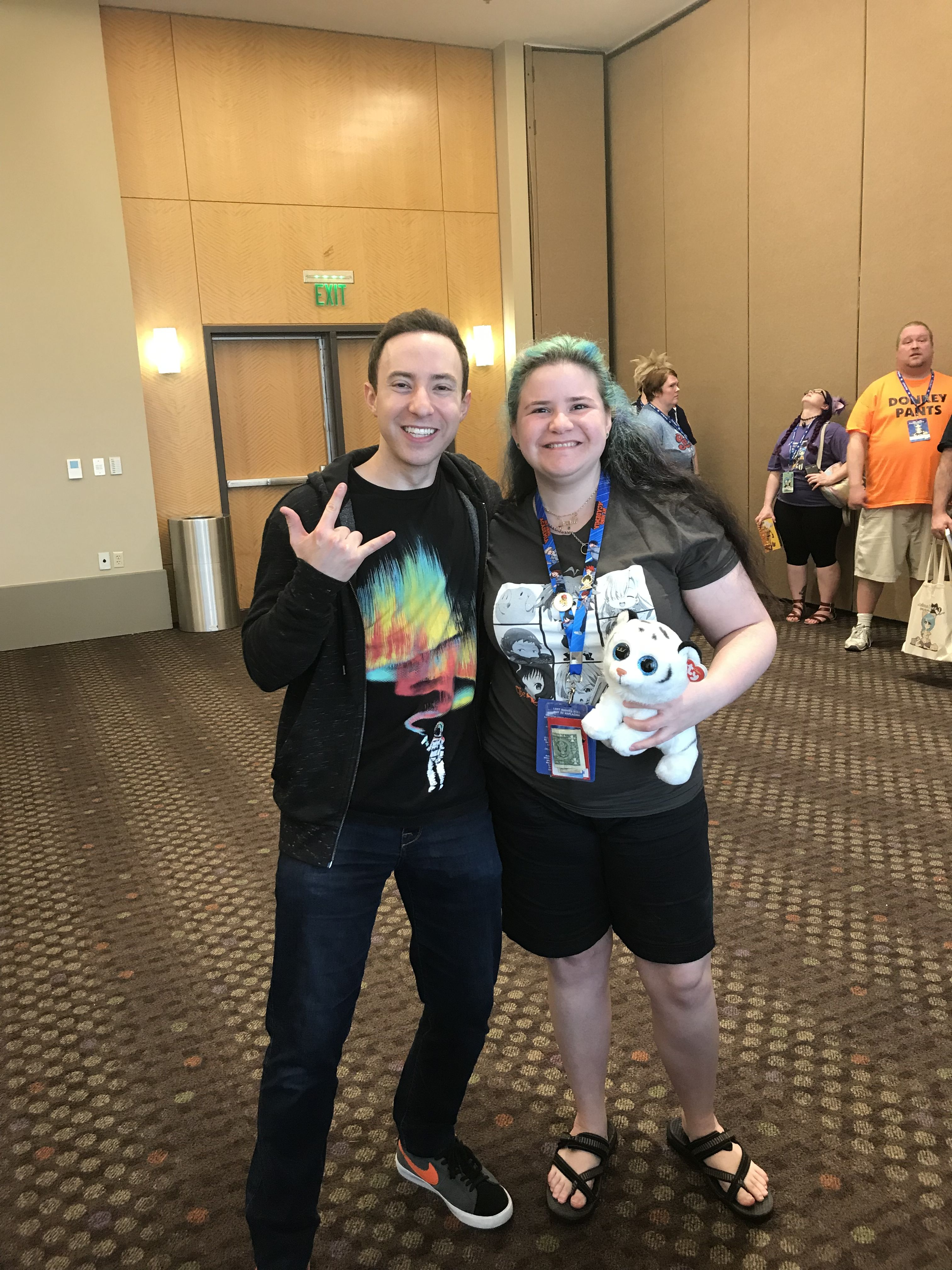 Me and Max Mittelman Anime conventions, Christmas