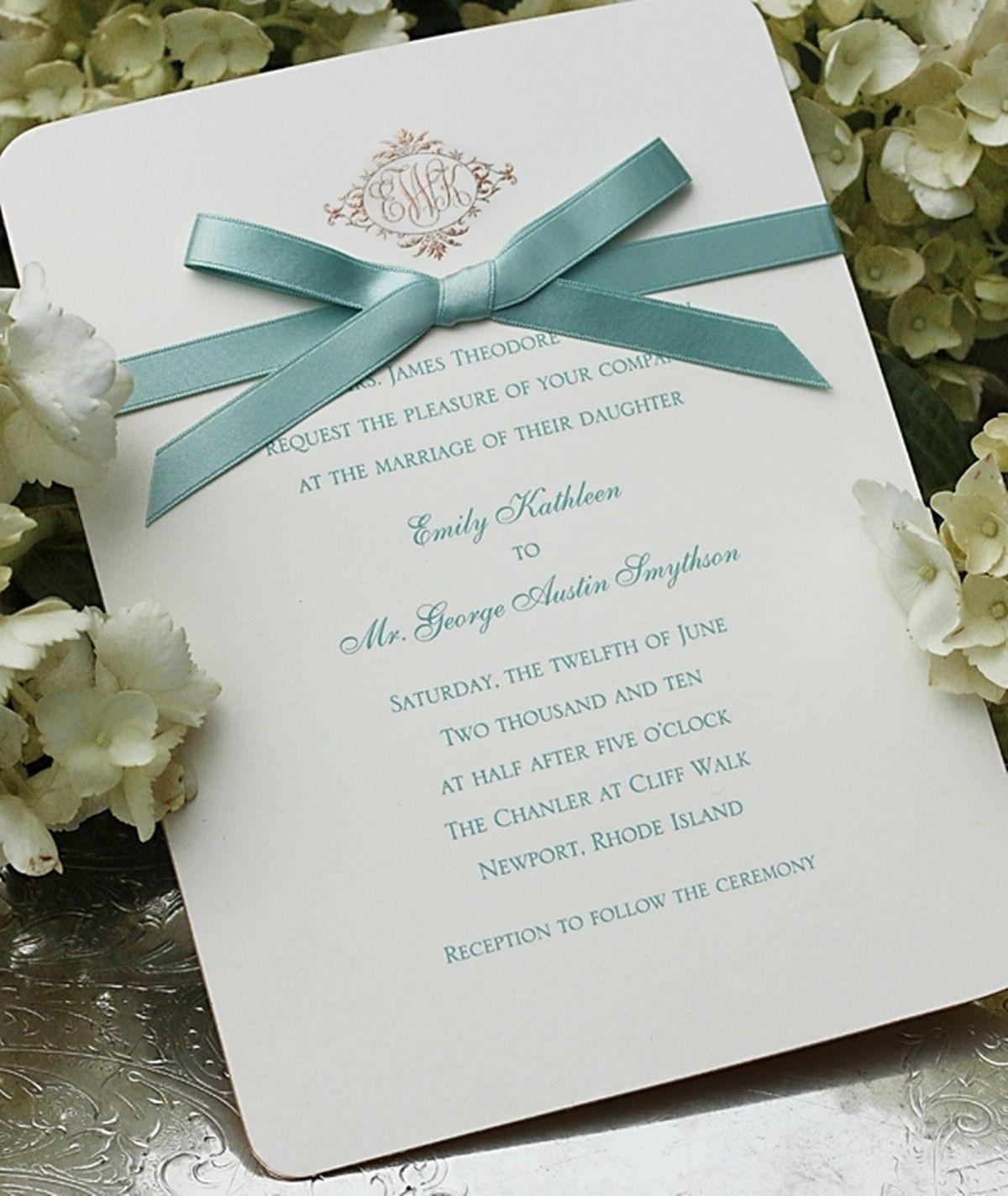 Irish wedding invitations cards